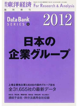 日本の企業グループ 2012