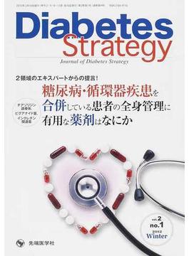 Diabetes Strategy Journal of Diabetes Strategy vol.2no.1(2012Winter) 糖尿病・循環器疾患を合併している患者の全身管理に有用な薬剤はなにか