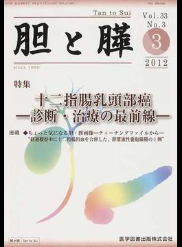 胆と膵 Vol.33No.3(2012−3) 十二指腸乳頭部癌