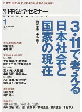 3.11で考える日本社会と国家の現在