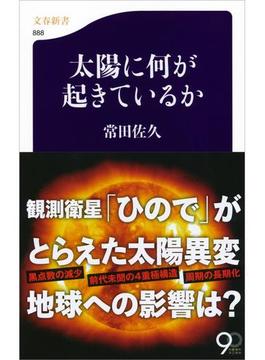 太陽に何が起きているか