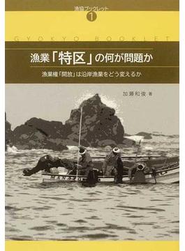 漁業「特区」の何が問題か 漁業権「開放」は沿岸漁業をどう変えるか