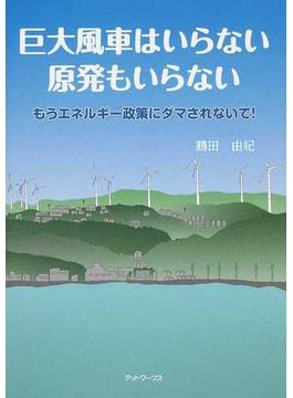 巨大風車はいらない原発もいらない もうエネルギー政策にダマされないで!