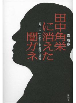田中角栄に消えた闇ガネ 「角円人士」が明かした最後の迷宮