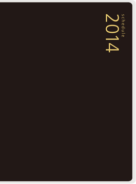 2014年版4月始まり No.764 T'pure  4(手帳)