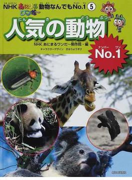 NHKあにまるワンだ~動物なんでもNo.1 5 人気の動物No.1