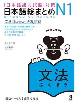 日本語総まとめN1文法 「日本語能力試験」対策