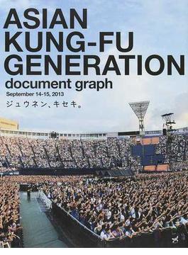 ジュウネン、キセキ。 ASIAN KUNG−FU GENERATION document graph September 14−15,2013