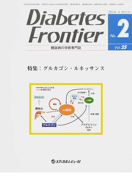 Diabetes Frontier 糖尿病の学術専門誌 Vol.25No.2(2014年4月) 特集・グルカゴン・ルネッサンス