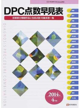 DPC点数早見表 診断群分類樹形図と包括点数・対象疾患一覧 2014年4月版