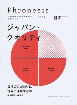 フロネシス 三菱総研の総合未来読本 11 ジャパン・クオリティ