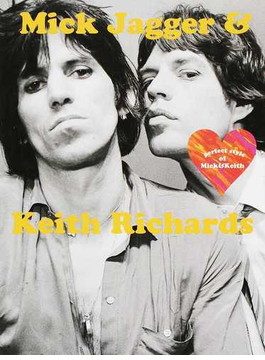 Mick Jagger & Keith Richards perfect style of Mick & Keith