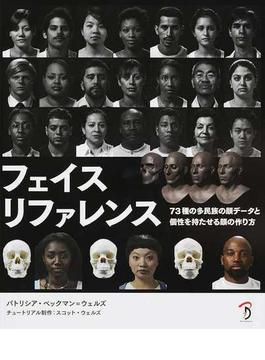 フェイスリファレンス 73種の多民族の顔データと個性を持たせる顔の作り方