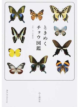 ときめくチョウ図鑑(ときめく図鑑Book for Discovery)