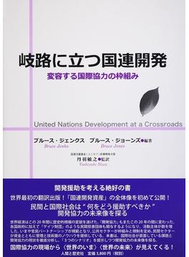 岐路に立つ国連開発 変容する国際協力の枠組み