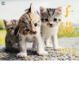 子猫 カレンダー 2015