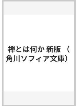 禅とは何か 新版(角川ソフィア文庫)