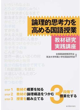 論理的思考力を高める国語授業 教材研究実践講座