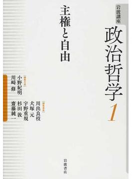 岩波講座政治哲学 6巻セット