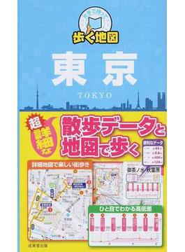 片手で持って歩く地図東京 2014
