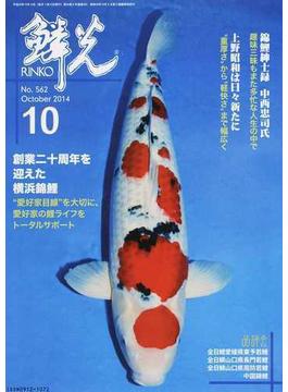 鱗光 2014−10 創業二十周年を迎えた横浜錦鯉/錦鯉紳士録 中西忠司氏