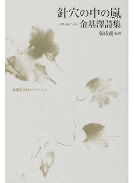 針穴の中の嵐 金基澤詩集