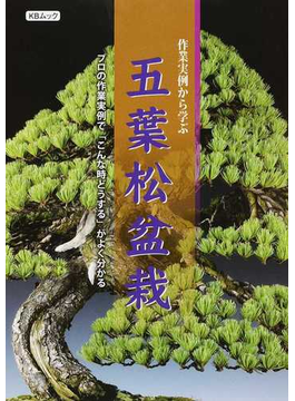 作業実例から学ぶ五葉松盆栽 プロの作業実例で「こんな時どうする」がよく分かる