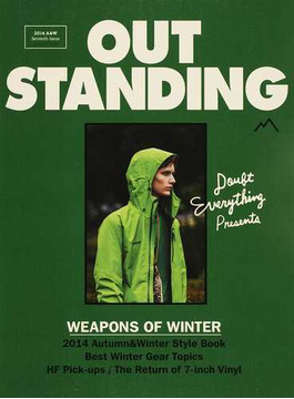 OUTSTANDING M Seventh Issue(2014A&W) WEAPONS OF WINTER