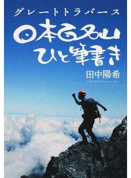 日本百名山ひと筆書き