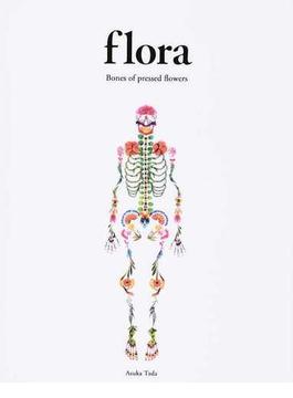 flora Bones of pressed flowers