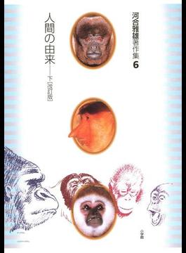 【6-10セット】河合雅雄著作集