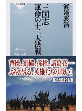 三国志運命の十二大決戦(祥伝社新書)