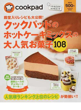 殿堂入りレシピも大公開!クックパッドのホットケーキミックスの大人気お菓子108 Part1