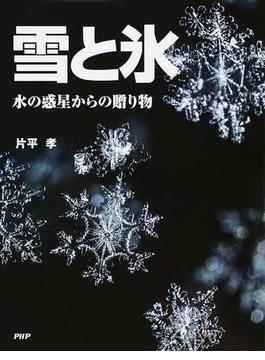 雪と氷 水の惑星からの贈り物