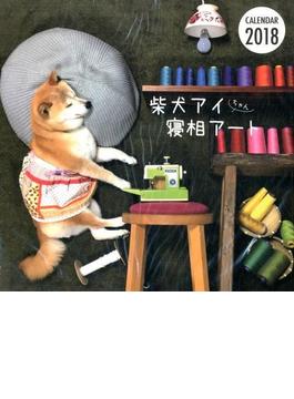 カレンダー 2018 柴犬アイちゃん寝相アート