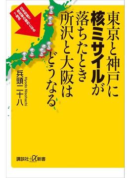 東京と神戸に核ミサイルが落ちたとき所沢と大阪はどうなる(講談社+α新書)