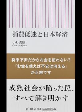 消費低迷と日本経済(朝日新書)