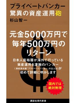 プライベートバンカー驚異の資産運用砲(講談社現代新書)