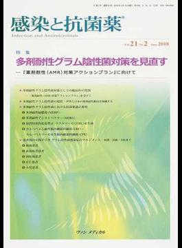 感染と抗菌薬 Vol.21No.2(2018June) 特集多剤耐性グラム陰性菌対策を見直す