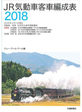 JR気動車客車編成表 2018