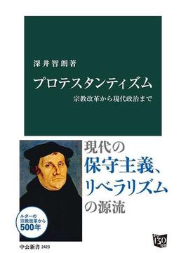 プロテスタンティズム 宗教改革から現代政治まで(中公新書)