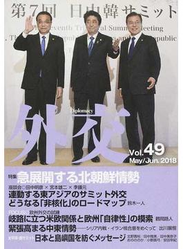 外交 Vol.49 特集急展開する北朝鮮情勢