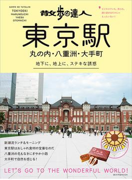 散歩の達人東京駅・丸の内・八重洲・大手町 地下に、地上に、ステキな誘惑