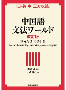 中国語文法ワールド 日・英・中三方攻読 改訂版