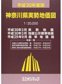 神奈川県実勢地価図 平成30年度版