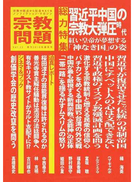 宗教問題 22 習近平中国の宗教大弾圧時代