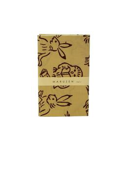 丸善×かまわぬ オリジナル手拭い 本の虫