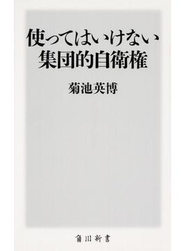 使ってはいけない集団的自衛権(角川新書)