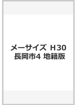 メーサイズ H30 長岡市4 地籍版