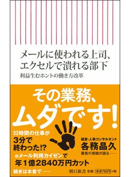 メールに使われる上司、エクセルで潰れる部下 利益生むホントの働き方改革(朝日新書)